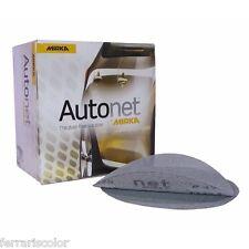 Disco abrasivo Autonet Mirka P80 per carteggiatura carrozzeria auto 50 pezzi