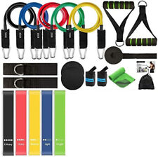 22 pcs Yoga TRX Resistance Bands Set Pull Rope Gym Home Fitness Workout Crossfit