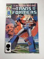 TRANSFORMERS #1 1ST PRINT 1ST APPEARANCE MARVEL COMICS 1984