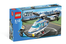 LEGO City Police Helicopter (#7741)(Retired 2008)(Very Rare)(NEW)