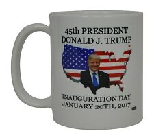 Best Funny Coffee Mug Tea Cup Gift Novelty Donald J. Trump 45th President USA