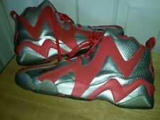 low priced ca8a4 7fe92 Reebok Kamikaze II Black OG Mid - Size 14 Shawn Kemp Red Silver