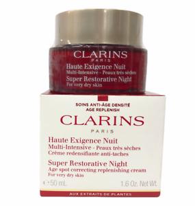 Clarins Super Restorative Night Age-Spot Correcting Cream (50mL/1.6Oz) NEW