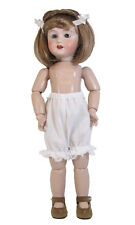 "White Doll Bloomers fits Bleuette, 11"" -12"" Slim Dolls 3-pair Vee'sVictorians"