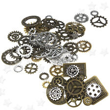 100g Altered Art Crafts Watch Parts Steampunk Jewellery Cyberpunk Cogs