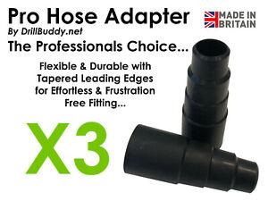 BEST Vacuum Cleaner Power Tool Dust Extractor Universal Hose Adaptor (See Video)