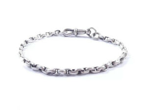 Antique Victorian Bracelet 925 Sterling Silver 5grams 7 Inches