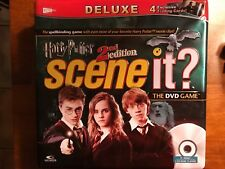 Harry Potter Scene It DVD Game 2nd Second Edition Deluxe tin