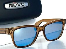 NEW! REVO TRYSTAN Rootbeer POLARIZED Blue Water lens Sunglass RE 5012 02 BL