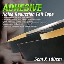 Car Auto Interior Adhesive Noise Reduction Felt Tape 2inX39in For All Vehicle