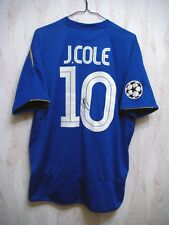 SIGNED Chelsea 2005/2006 JOE COLE Umbro Football Soccer Shirt Jersey Champions