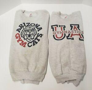 Vintage UofA University of Arizona Wildcats  Gray Jerzees Sweatshirt Size XL I