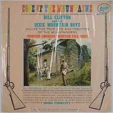 BILL CLIFTON & DIXIE MOUNTAIN BOYS: Code of Mountains STARDAY Bluegrass ORIG LP