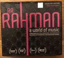 A World of Music by A R Rahman (5-CD + 1-DVD, 2009)