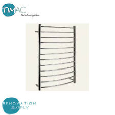 BRAND NEW  BATHROOM TOWEL RAIL RACK 12 ROUND BAR CHROME FINISHED