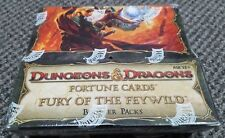 Dungeons & Dragons Fortune Cards - Fury of the Feywild Booster Box w/ 24 Packs