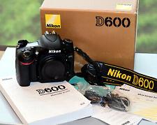 Nikon  D600 Reflex Digitale Full Frame 24X36 DSLR FX – 8000 scatti