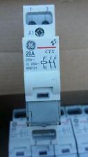 Contattore, teleruttore General Electric, 2x20A, bobina 220v