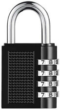 Combination Padlock 4-Digit Combination Lock, for Sheds, Gym, Toolbox