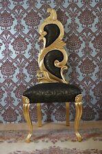 PROMO: Imposante chaise à haut dossier doré à la feuille d'or d'un château à Bx.