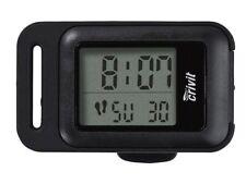 CRIVIT® Schrittzähler Pendometer 3D Sensor LC Display beleuchtet schwarz  NEU