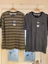 Mens Clothes Size Medium BHS Cotton Tshirts X2 New