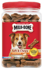 Milk Bone Soft and Chewy Real Chicken Dog Biscuit Treats Snacks 25 Oz