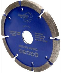 CLASSICPRO MORTAR RAKING DISC 115mm  DIAMOND POINTING RAKER BLADE ANGLE GRINDER