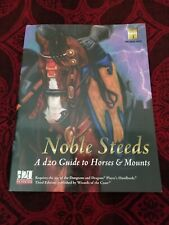 Noble Steeds - A d20 Guide to Horse Mounts
