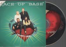 Ace Of Base Lucky Love CD SINGLE france french card sleeve