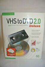 Vintg-Honestech VHS to DVD 2.0 Deluxe Video Conversion Kit 2006 -New Sealed-Box