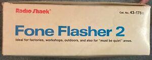 Radio Shack Fone Flasher 2 Hearing Impaired/Noisy Area New in Box Free Shipping