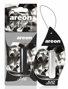 Areon Liquid 5ml Black Crystal Car Freshener