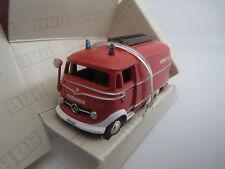 """BUB  06805  Mercedes-Benz  L319  """"Feuerwehr""""  (rot)  1:87  OVP !"""