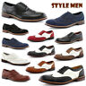 MEN OXFORD LACE UP WING TIP CLASSIC  LOAFERS  WORK FORMAL CASUAL LEATHER LINED