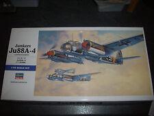 HASEGAWA  JUNKERS JU88A-4  LUFTWAFFE BOMBER  MODEL 1/72