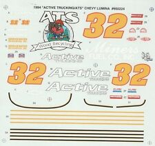 #32 Dick Trickle Active Trucking 1994 Chevy 1/24th - 1/25th Scale Decals