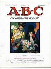 A-B-C Magazine d'Art 1927 le vitrail, Angkor, maison de Millet, Robiquet