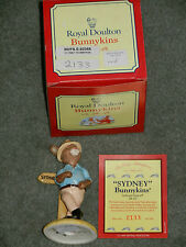 ROYAL DOULTON FIGURINE 'SYDNEY' DB 195, MINT IN BOX