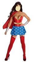Sexy Wonder Woman Ladies Fancy Dress Costume- size 8-12