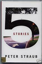 5 STORIES Peter Straub BOOK LIMITED EDITION #269 OF 350 Autographed Signed