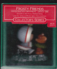 1986  NEW Hallmark Frosty Friends Series Ornament Dated NIB NEW
