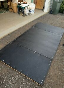 Deadlift / Squat Rack Crossfit Powerlifting Platform (MATTED)