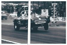 1960s Drag Racing-Injected HEMI Powered '61 Corvette-Cecil County Drag-O-Way