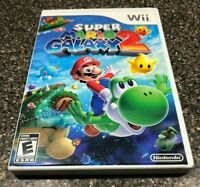 Super Mario Galaxy 2 (Nintendo Wii, 2010) Complete with Manual - Tested Working