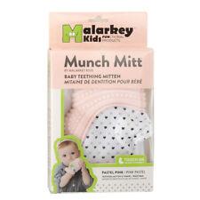 Malarkey Kids Munch Mitt Teething Mitten - Pastel Pink