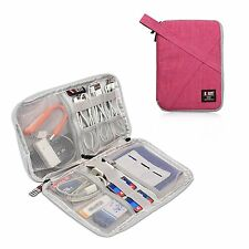 Electronic Accessories Bag Pouch Storage Cable Usb Organizer Travel Digital Case