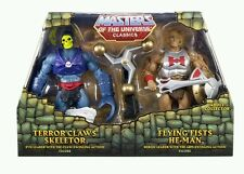 Masters of the Universe Classics Flying Fists He-Man & Terror Claws Skeletor Fig