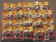 Lego 71017 Batman Movie Minifigures Complete Set 20 Factory Sealed Free Ship