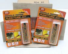 Wholesale Bulk 24 x Bicycle Puncture Repair Kit Patches Glue Holding Levers Box